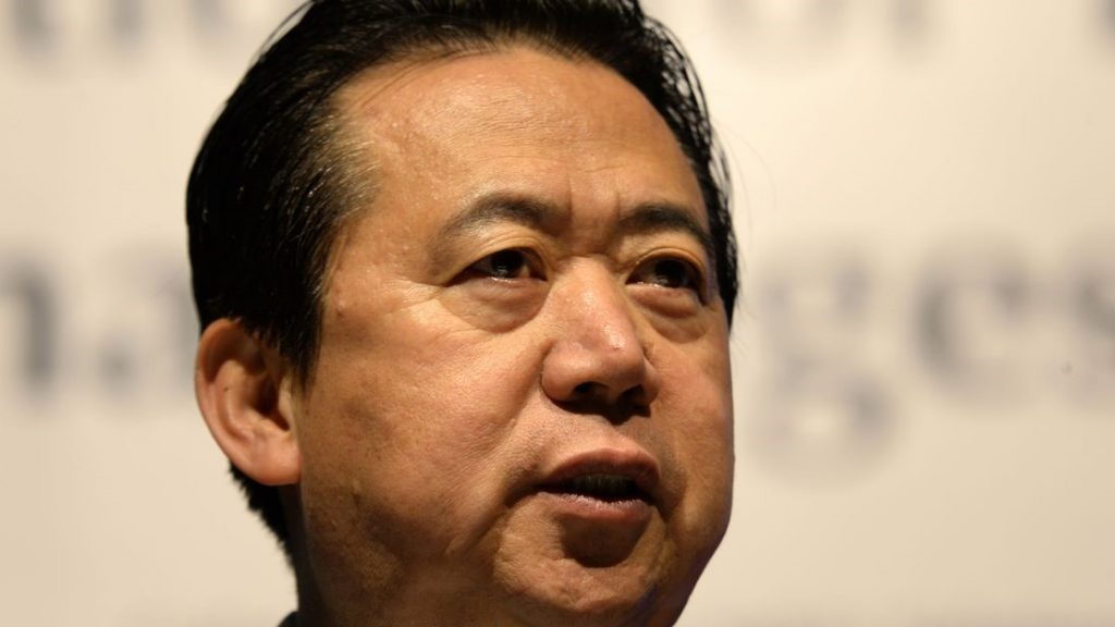 Meng Hongwei: China investigating former Interpol president for bribery