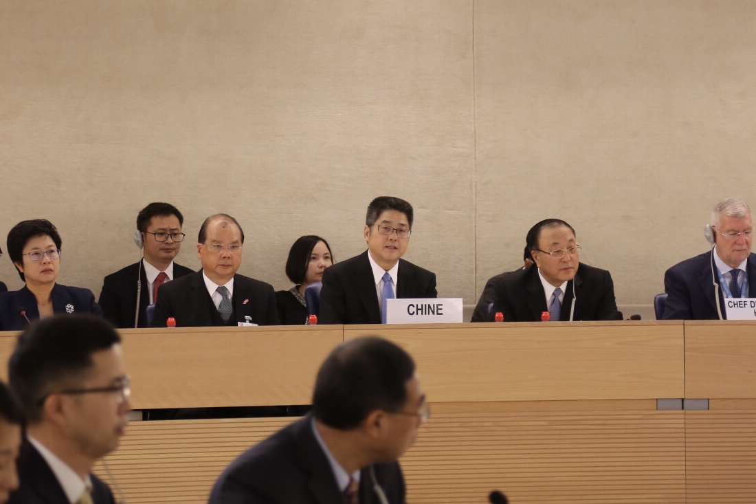 China willing to accept advice on human rights