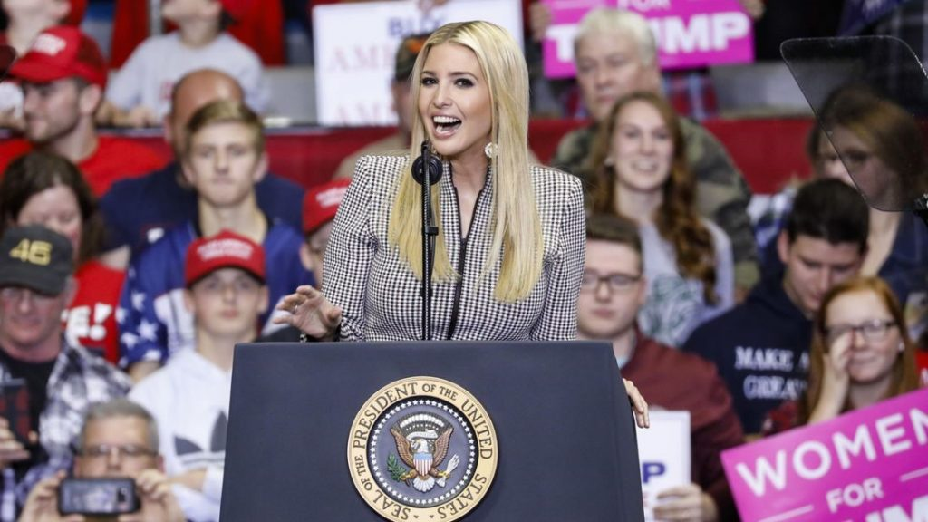 Ivanka Trump granted trademark for 'voting machines' in China