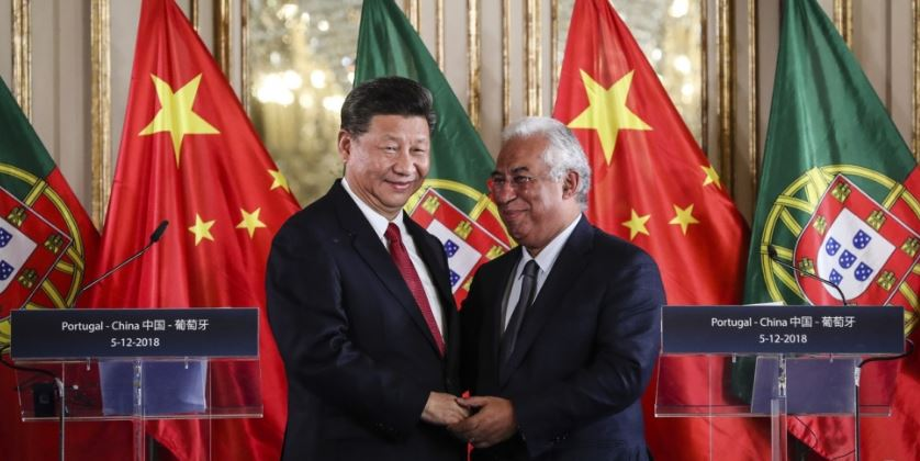 Portugal's support for China's belt and road plan sets alarm bells ringing in Brussels