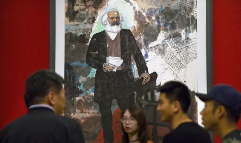 German President Frank-Walter Steinmeier reminds young Chinese of 'havoc' caused by Marxism