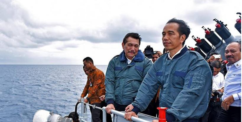 Indonesia opens military base on edge of South China Sea to 'deter security threats'