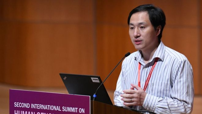 China halts work of He Jiankui who created the world's first genetically edited babies