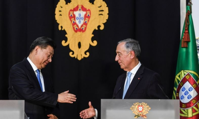 Portugal wavers as Xi Jinping presses Europe on Belt and Road Initiative