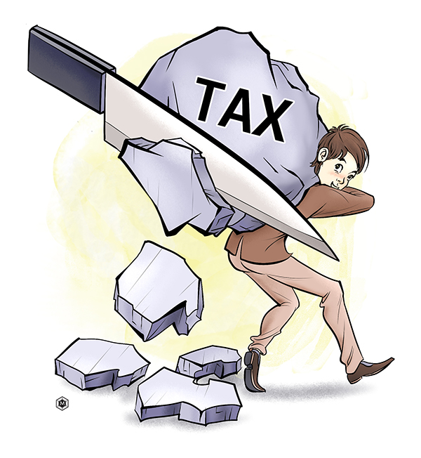 Income tax reform can help boost demand