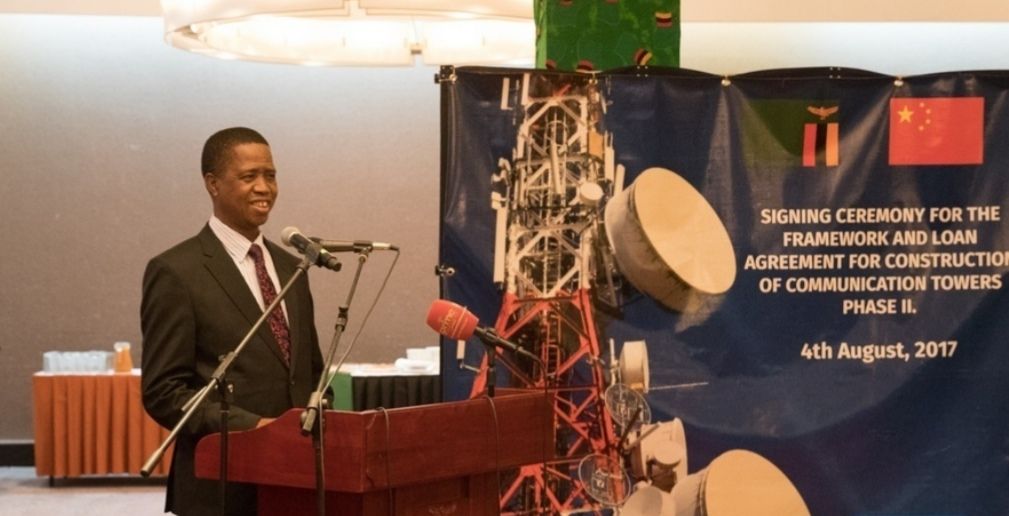 Zambia fast-tracks building of China-funded communication towers: official