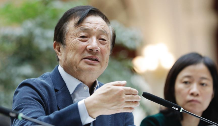 Huawei CEO says company doesn't spy for China and praises Trump in rare appearance
