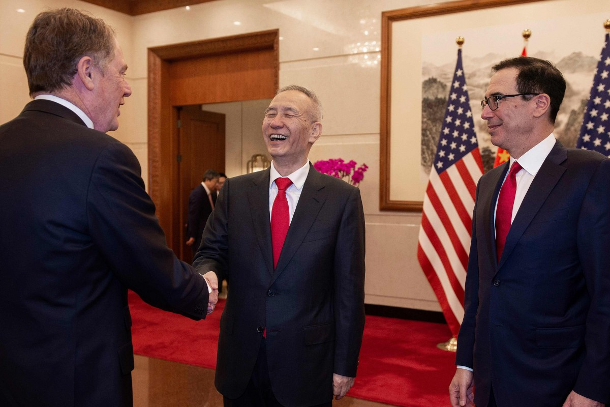 US-China trade talks resume in Beijing with pleasantries but much work to do