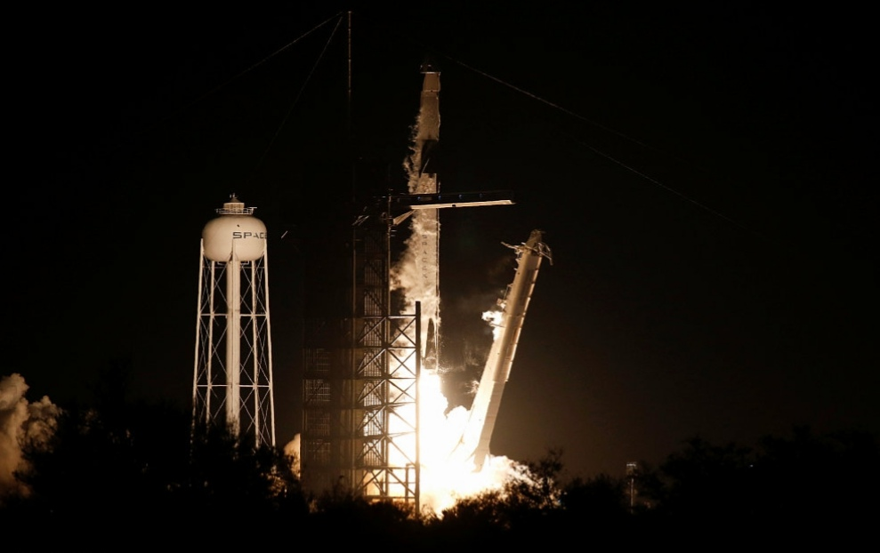 SpaceX Crew Dragon spacecraft marks debut unmanned flight