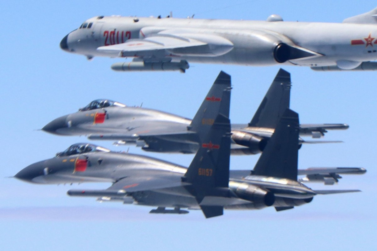 Chinese jets' incursion across Taiwan Strait is Beijing's way of pushing back against the US, say analysts