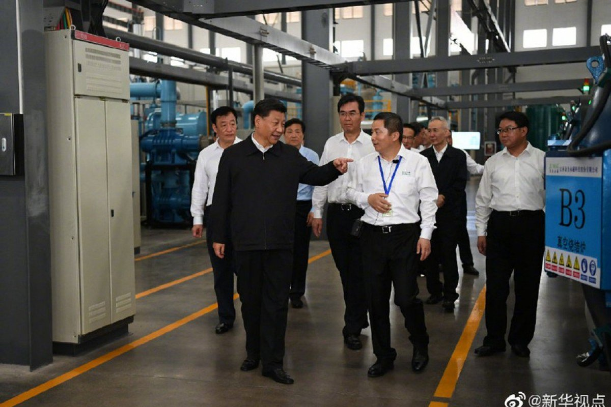 Xi Jinping visits rare earth minerals facility, amid talk of use as weapon in US-China trade war