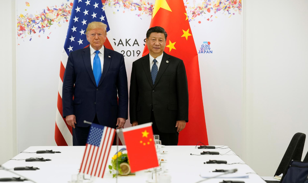 Trade war to drag on as Trump says long way to go and China strikes hard-line tone