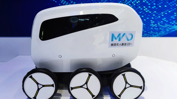In Japan and China, robots could soon deliver food to your doorstep
