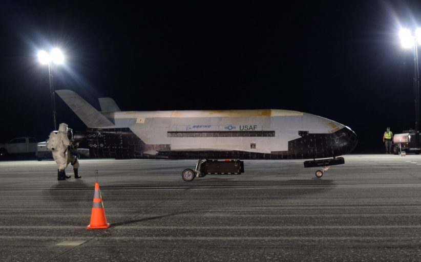 Does US space plane X-37B mark start of new military frontier?