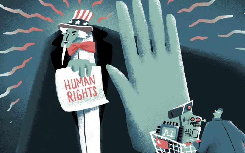 How AI and human rights have been dragged into the US-China tech war, threatening wider split