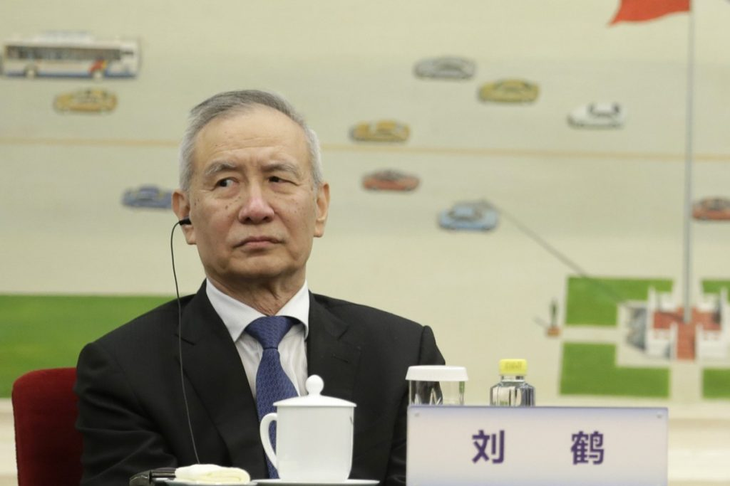China won't give up its state-led economic model, top trade negotiator Liu He says