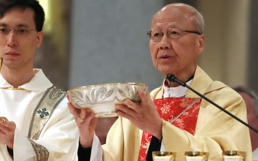 Hong Kong anti-government protests: leader of city's Catholics Cardinal John Tong calls for Christmas truce
