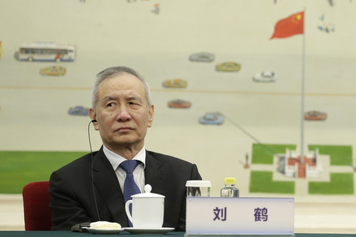 China's Vice-Premier Liu He shifts focus to domestic financial issues as trade war deal nears