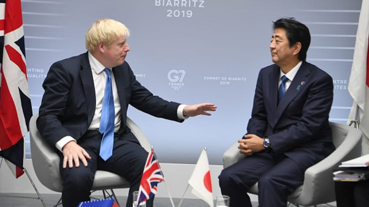 UK reaches agreement with Japan to clinch its first major post-Brexit trade deal
