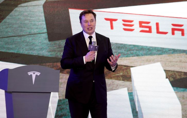 Tesla to sell up to $5 billion in stock amid rally