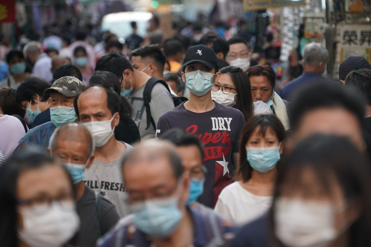 Coronavirus: Hongkongers have used 2 billion disposable masks since February, environmental group says, urging government to promote reusable variants