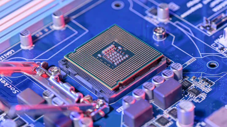 Chinese chipmaker SMIC falls 5% as co-CEO plans to resign and it faces removal from MSCI indexes