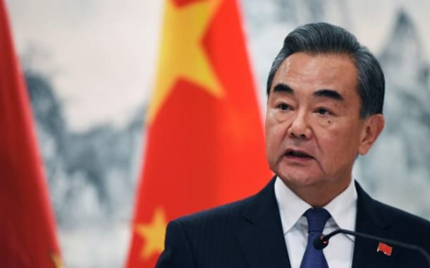 China's foreign minister calls for the U.S. to remove tariffs and sanctions
