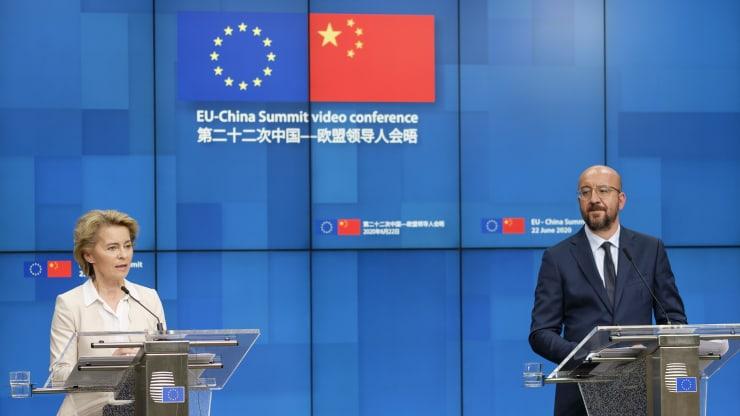 EU parliament freezes China deal ratification until Beijing lifts sanctions