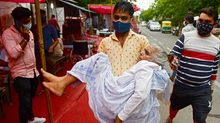 WHO labels a Covid strain in India as a 'variant of concern' — here's what we know
