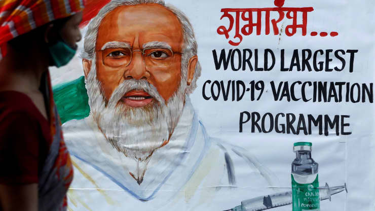 India to give adults free COVID shots after bungled vaccine rollout, soaring deaths