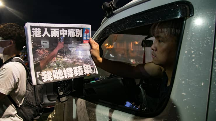 Hong Kong journalists blame Apple Daily's closure on 'continuous government oppression'